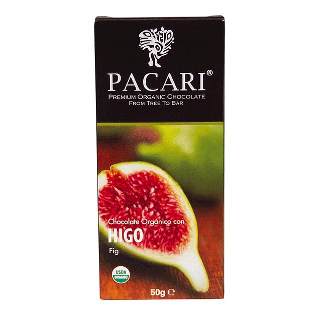 Chocolate Higo 50gr Orgánico Pacari