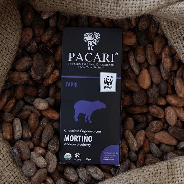 Chocolate Mortiño 50gr Orgánico Pacari