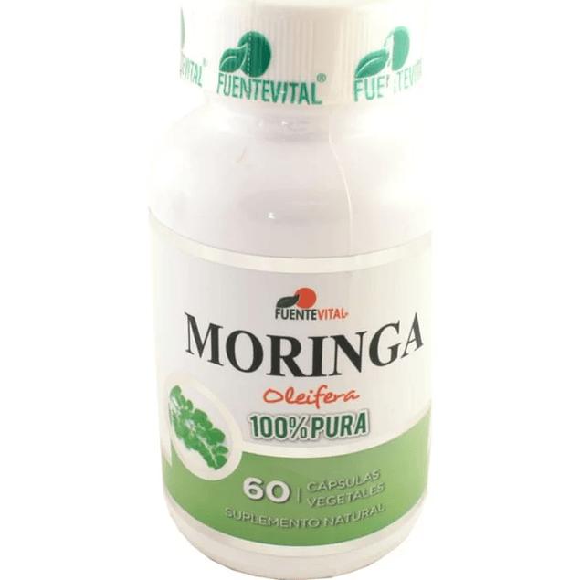 Moringa 60 cápsulas  FuenteVital