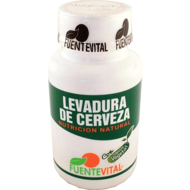 Levadura de cerveza 270mg 60 cápsulas  FuenteVital