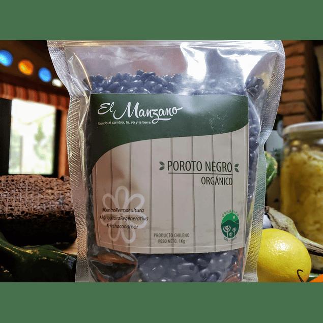 El Manzano organico Poroto Negro 1 Kg 1kg Orgánico El Manzano