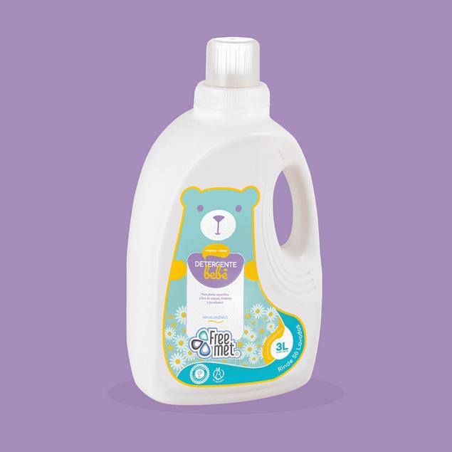 Detergente ecolgico Bebe 3lt  Freemet