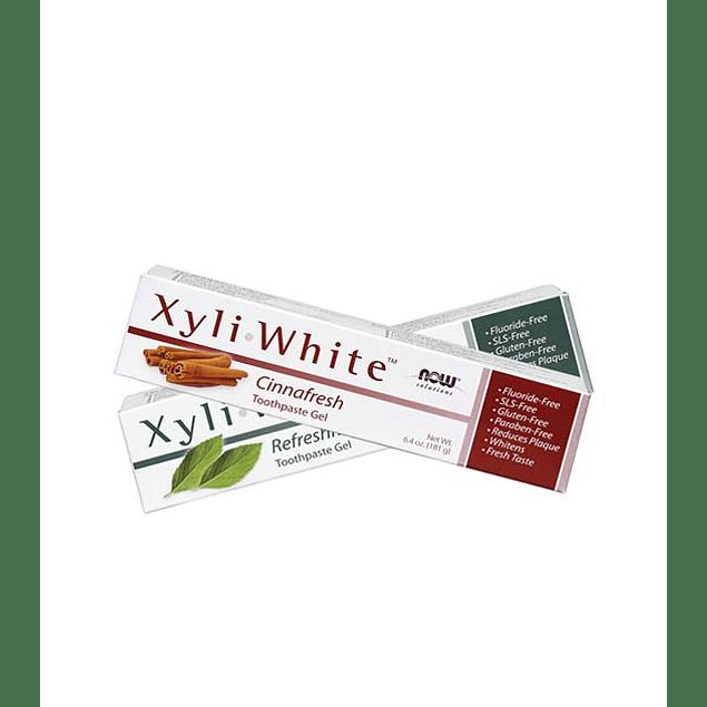 Pasta de Dientes Xyli White Cinnafresh 181gr  Now