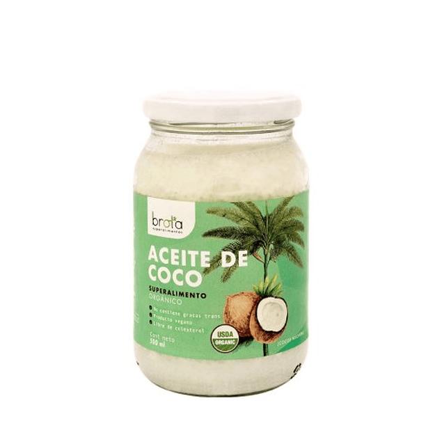 Aceite de coco 500ml Orgánico Brota