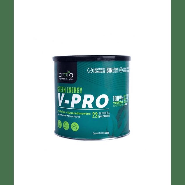 Proteina V-Pro Green Energy 650gr Vegana Brota