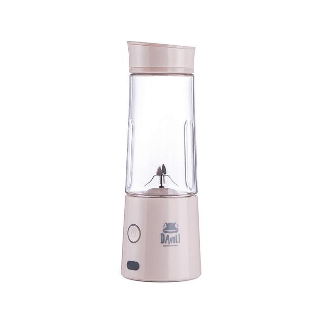 Licuadora personal portátil vaso de tritán (Rosada) Máquina Electrónica Davoli