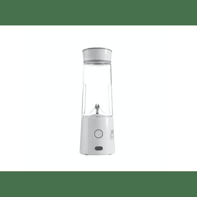 Licuadora personal portátil vaso de tritán (Blanca) Máquina Electrónica Davoli