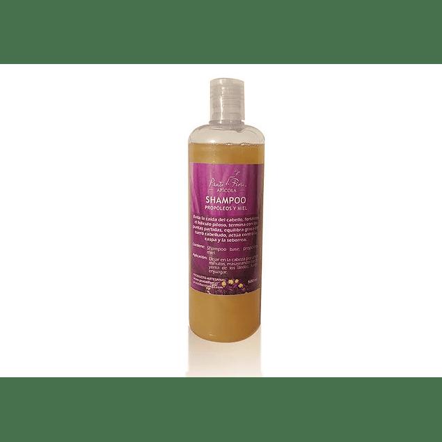 Shampoo Propoleo y miel 500ml  Prati di fiori