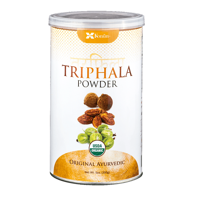 Triphala  200gr Polvo Orgánico Sin gluten Konun