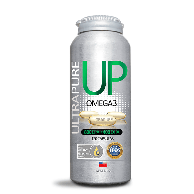 Up Omega 3 120 cápsulas  Newscience