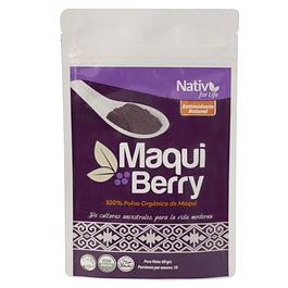 Maqui berry 60gr Polvo Nativ for life