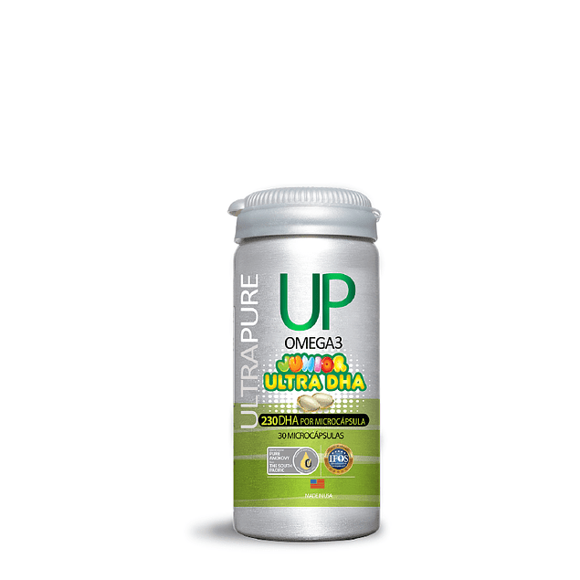 Up Junior Ultra DHA (230mg DHA, 50mg EPA) 30 cápsulas  Newscience