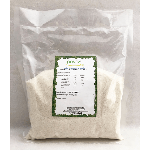 Harina de arroz 1kg  Positiv
