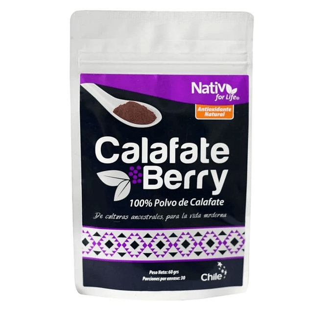 Calafate berry 60gr Polvo Nativ for life