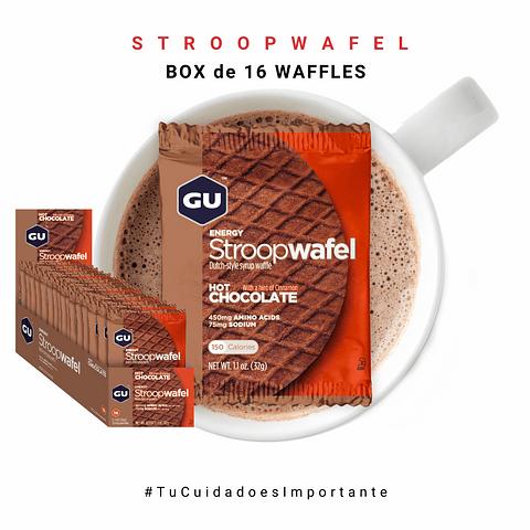 GU BOX ENERGY STROOPWAFEL-HOT CHOCOLATE