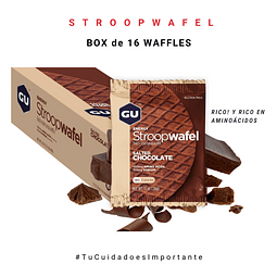 GU BOX ENERGY STROOPWAFEL-SALTED CHOCOLATE