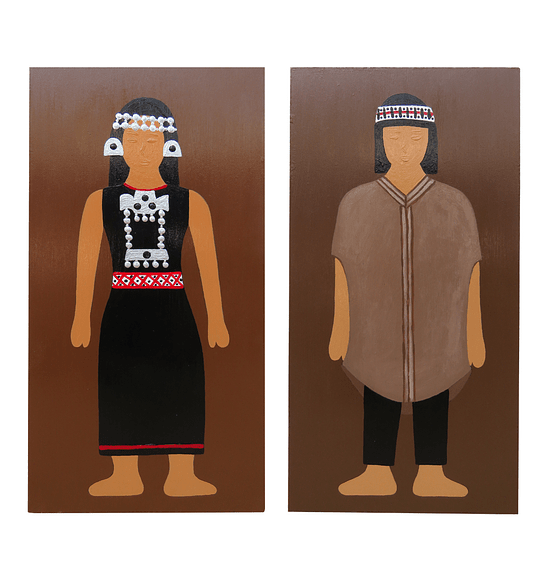 MAPUCHE PAINTINGS