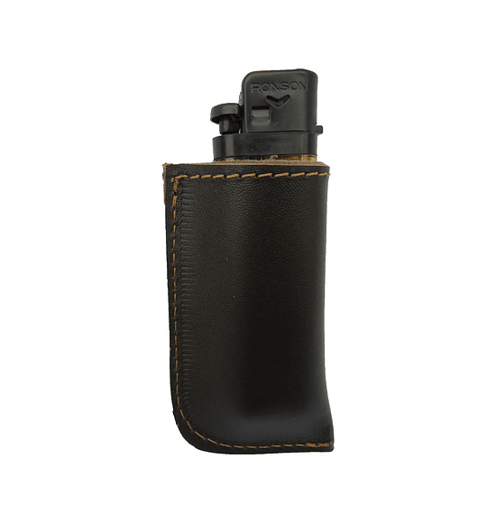 Leather lighter holder