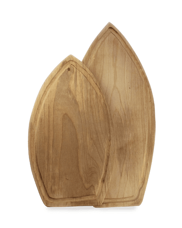 Wooden Chopping Board - Surfboard Model