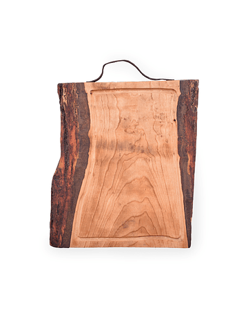 BOARDS WITH LEATHER HANDLE