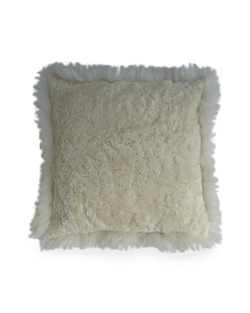 SHEEP LEATHER PILLOWS