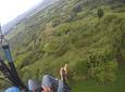 Gleitschirmfliegen im Mirador del Quindío