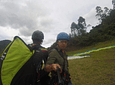 Paragliding in the Mirador del Quindío