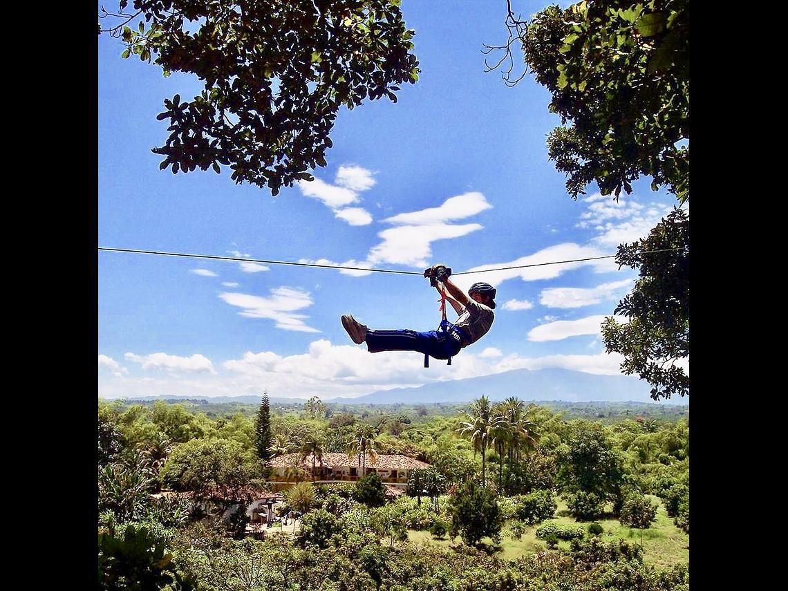 Experiencia Volando Entre Gigantes