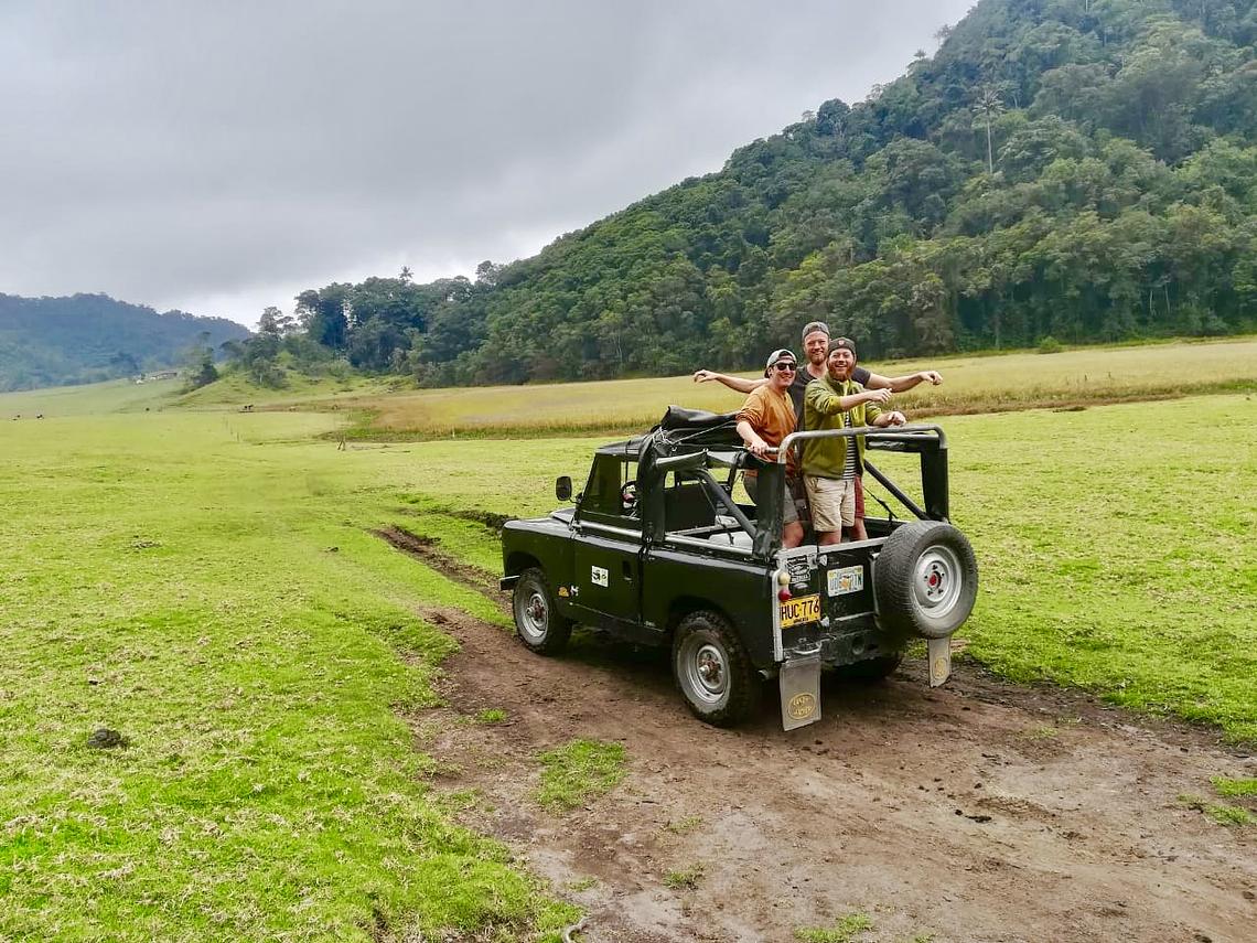 Viaje de Exploración al Volcán Machín