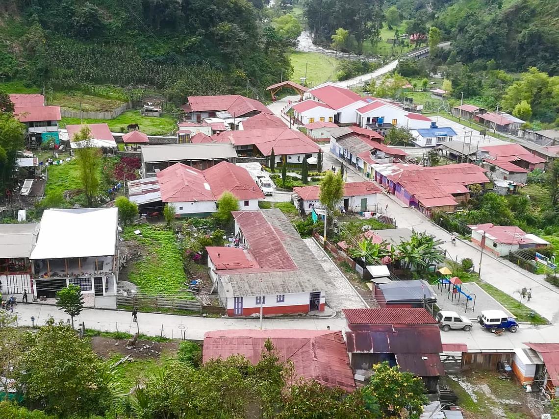 Voyage d'exploration au volcan Machín