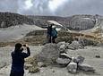 Promenez-vous dans le Snowy Ruíz