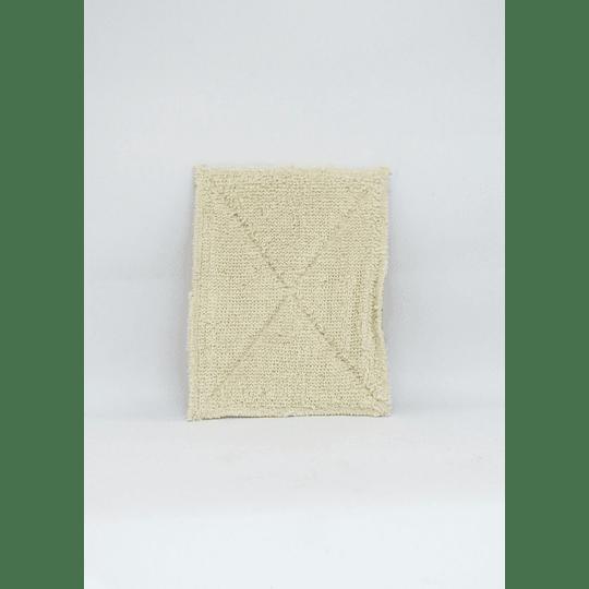 Esponja lavaloza compostable algodón/arpillera