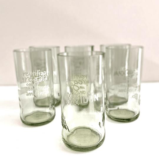 Pack de 6 vasos piscoleros colección conciencia