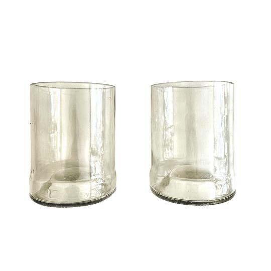 Pack de 2 vasos reciclados