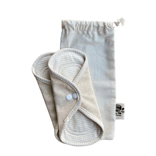 Toalla femenina algodón orgánico S