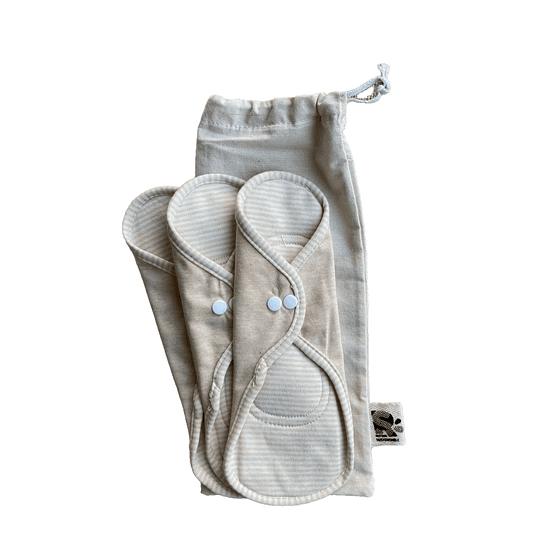 Toalla femenina algodón orgánico M