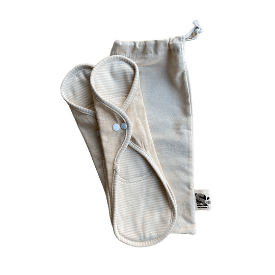 Toalla femenina algodón orgánico L