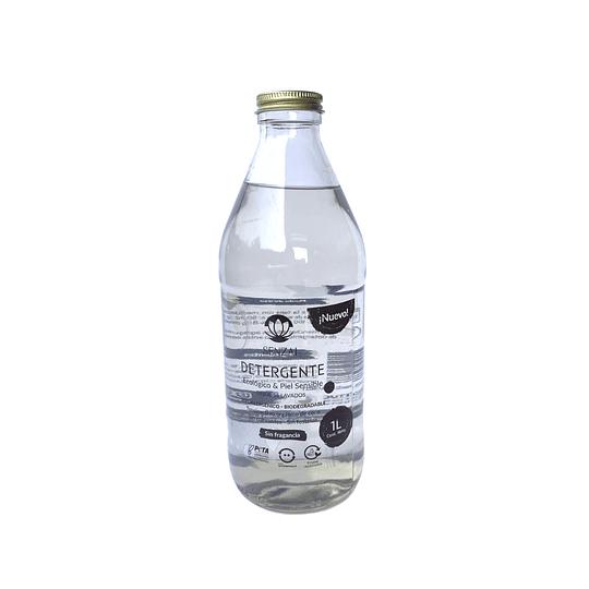 Detergente líquido sin fragancias 1 L