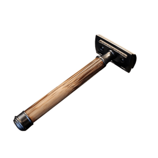 Afeitadora clásica de mango de madera