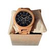 Reloj pulsera de bambú