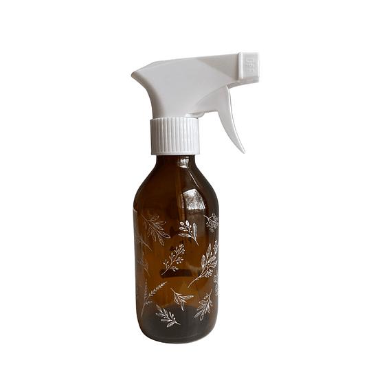 Botella ámbar 200 ml con Pulverizador