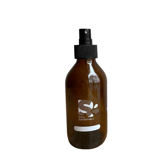Botella ámbar 200 ml con Atomizador