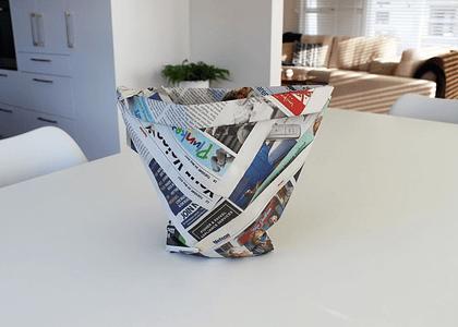 Cómo reemplazar la bolsa del papelero ahora que estarán prohibidas en Chile