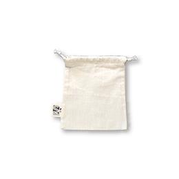 Bolsa tipo saco algodón crudo - Mini bolsita
