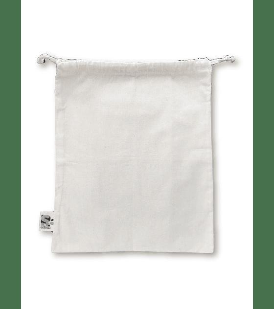 Bolsa tipo saco algodón crudo - Extra Grande