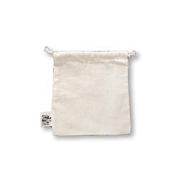 Bolsa tipo saco algodón crudo - Pequeña