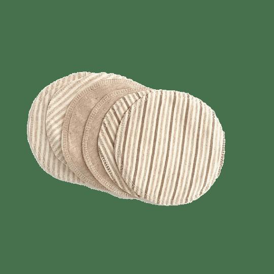 Protectores mamarios reutilizables de algodón orgánico