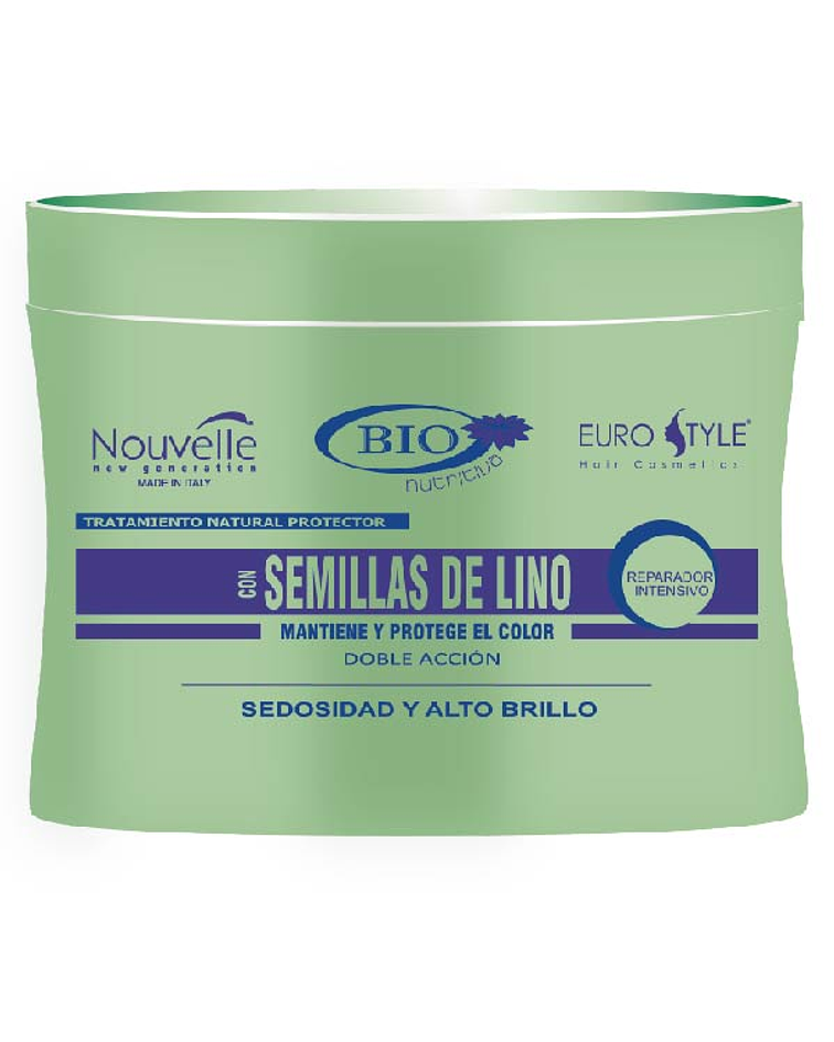 Tratamiento Semillas de Lino NOUVELLE Bio Nutritiva 300ml