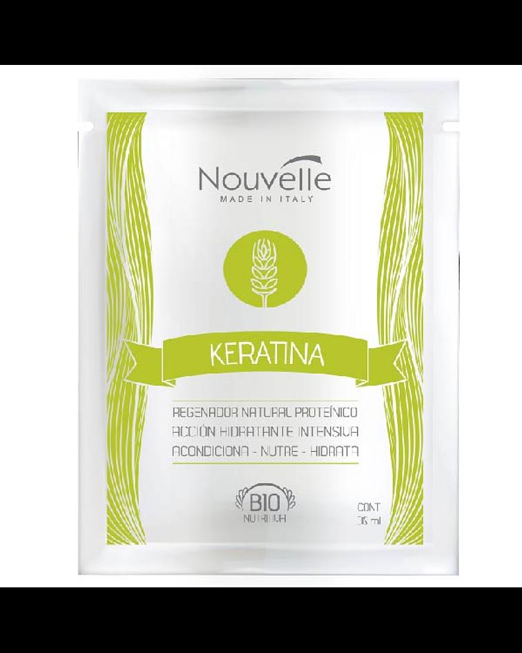 Tratamiento Keratina NOUVELLE Bio Nutritiva Sachet 30ml