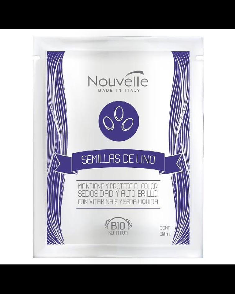 Tratamiento Semillas de Lino NOUVELLE Bio Nutritiva Sachet 30ml